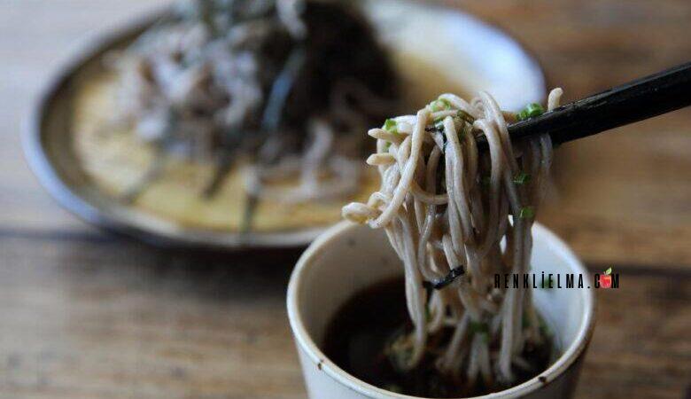Soğuk Noodle Çorbası Tarifi